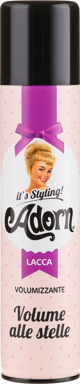 Lakier dodający włosom objętości - Adorn It's Styling Volumizing Hair Spray — фото N1