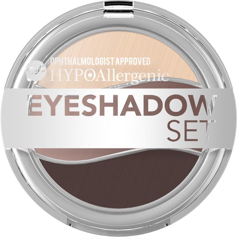 Hipoalergiczne potrójne cienie do powiek - Bell HYPOAllergenic Eyeshadow Set