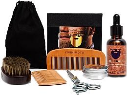 Kup Zestaw - Yoshimoto Gentleman's Code ST057 (comb + scissors + wax/30g + oil/30ml + comb + bag)