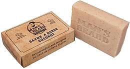 Kup Kokosowe złuszczające mydło do brody - Man's Beard Savon Exfoliant Coconut Soap