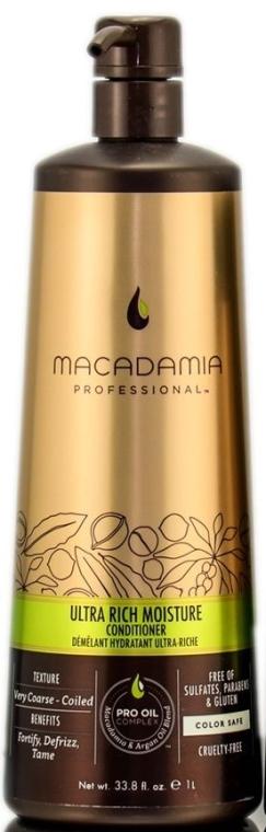 Odżywka do włosów - Macadamia Professional Ultra Rich Moisture Conditioner — фото N3