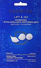 Kup Maseczka liftingująco-wygładzająco-dotleniająca pod oczy i na powieki Lift & Go - Dermika Lifting Mask Smoothing and Oxygenating