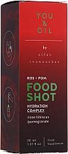 Kup Wielofunkcyjny kompleks nawilżający - You & Oil Food Shots Rose Hibiscus + Pomegranate Hydration Complex