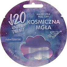 Kup Maska nawilżająca peel off do twarzy o zapachu cukierków Kosmiczny mgła - Under Twenty