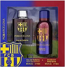Kup PRZECENA! Air-Val International FC Barcelona - Zestaw (edt/100ml + deo/150ml) *