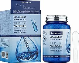 Kup Serum w ampułkach z kolagenem i kwasem hialuronowym - FarmStay Collagen & Hyaluronic Acid All-In-One Ampoule