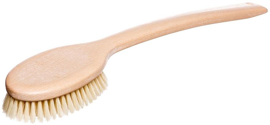 Szczotka z rączką do masażu i mycia ciała - Miamed — фото N1