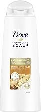 Kup Przeciwłupieżowy szampon do suchej skóry głowy - Dove Dermacare Scalp Dryness & Itch Relief Anti-Dandruff Shampoo