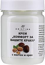 Kup Krem do stóp z kasztanem i orzechami - Hristina Cosmetics