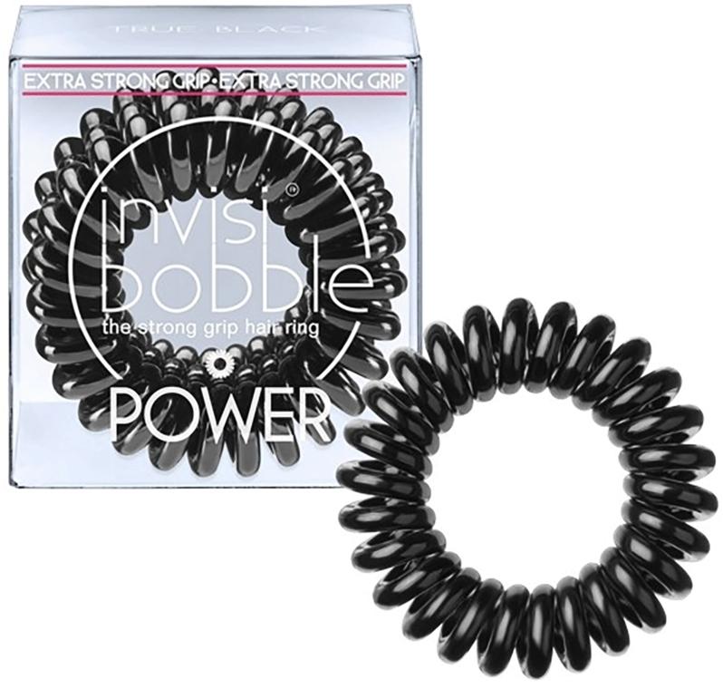 Gumka do włosów - Invisibobble Power True Black — фото N1