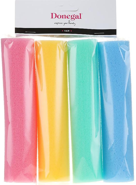 Papiloty do włosów 5006, kolorowe - Donegal Extra Thinck Papilots