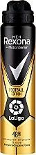 Kup Antyperspirant w sprayu dla mężczyzn - Rexona Men MotionSense La Liga Football Edition Antiperspirant
