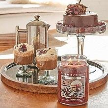 Świeca zapachowa w słoiku - Village Candle Cherry Coffee Cordial Glass Jar — фото N4