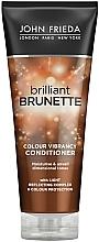 Kup Nawilżająca odżywka ochronna do włosów brązowych - John Frieda Brilliant Brunette Colour Protecting Moisturising Conditioner