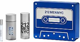 Kup Carolina Herrera 212 Men NYC - Zestaw (edt 100 ml + edt 10 ml + deo 150 ml)