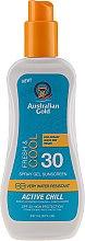 Kup Chłodzący żel przeciwsłoneczny w sprayu SPF 30 - Australian Gold Active Chill Spray Gel Sunscreen