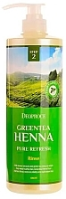Kup Odżywka do włosów - Deoproce Green Tea Henna Pure Refresh Rinse