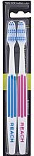 Kup Szczoteczka do zębów, średnio twarda, niebieska i różowa - Listerine Reach Interdental