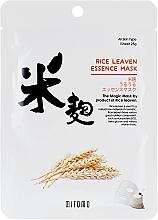 Kup Maseczka do twarzy w płachcie Ryż - Mitomo Rice Leaven Essence Mask