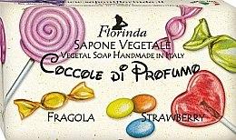 Kup Mydło naturalne w kostce dla dzieci Truskawka - Florinda Sapone Vegetale Strawberry