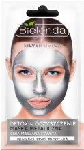 Kup Metaliczna maska do cery mieszanej i tłustej Detoks i oczyszczenie - Bielenda Silver Detox Metallic Mask