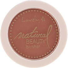 Kup Róż do policzków - Lovely Natural Beauty Blusher