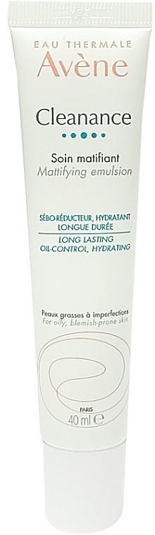 Matująca emulsja do twarzy - Avene Cleanance Mattifying Emulsion — фото N1