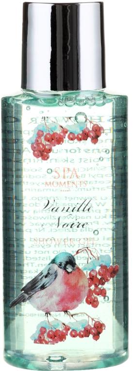 Zestaw - Spa Moments Vanille Noire (sh/gel 100 ml + b/lot 60 ml + butter 50 ml + salf 50 g + sh/sponge) — фото N4