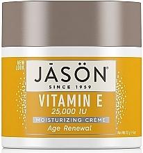 Kup Krem do twarzy z witaminą E - Jason Natural Cosmetics Age Renewal Vitamin E