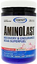 Kup Suplement diety Regeneracja i wytrzymałość w proszku - Gaspari Nutrition Aminolast Strawberry Kiwi