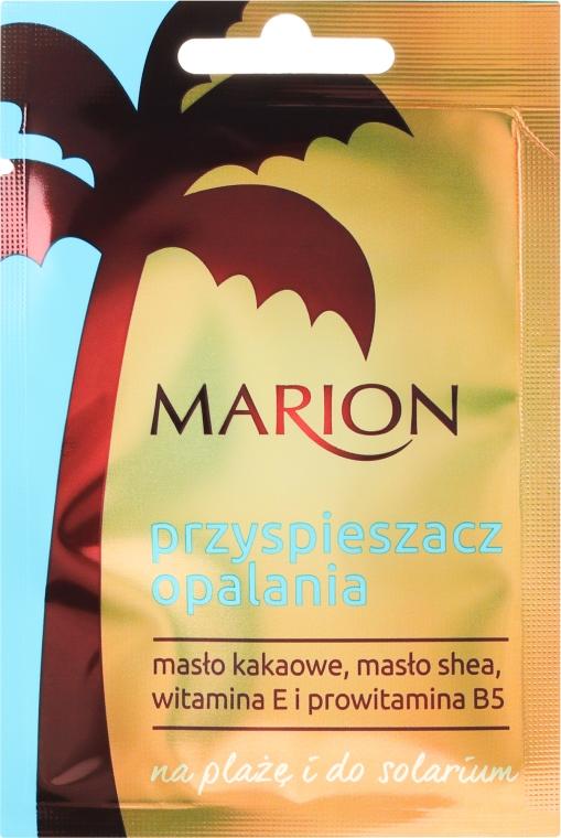 Przyspieszacz opalania na plażę i do solarium - Marion