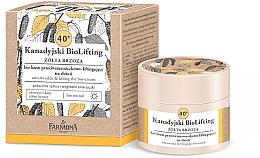 Kup Biokrem przeciwzmarszczkowo-liftingujący na dzień Żółta brzoza 40+ - Farmona Kanadyjski BioLifting