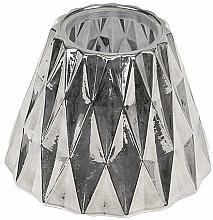 Kup Abażur na średnią świecę - WoodWick Geometric Silver Shade