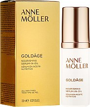 Kup Odżywcze serum w olejku do twarzy - Anne Moller Goldage Nourishment Serum-in-Oil