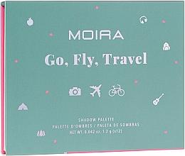 Kup Paleta cieni do powiek - Moira Happy Go, Fly, Travel Shadow Palette