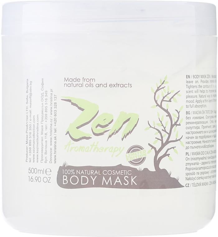Nawilżająca maska do ciała - Sezmar Collection Professional Zen Aromatherapy Body Mask — фото N1