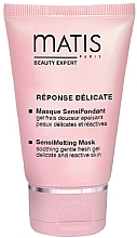 Kup PRZECENA! Orzeźwiający żel-maseczka do twarzy - Matis Reponse Delicate Sensimelting Mask *