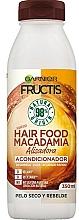 Kup Odżywka nawilżająca do włosów suchych, trudno poddających się stylizacji - Garnier Fructis Hair Food Macadamia Smoothing Conditioner