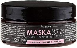 Kup Maska błotna do ciała z olejem z opuncji i spiruliną - E-Fiore