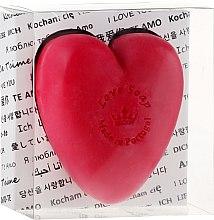 Kup Naturalne mydło w kształcie serca - Essências de Portugal Love Soap Transparent Box (w pudełku)