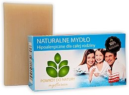 Kup Naturalne mydło hipoalergiczne - Powrot do Natury Natural Soap For All Family