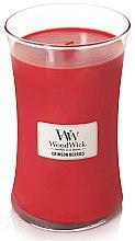 Kup Świeca zapachowa w szkle - WoodWick Hourglass Candle Crimson Berries