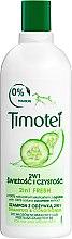 Kup Szampon z odżywką 2 w 1 do włosów normalnych i przetłuszczających się Świeżość i czystość - Timotei 2 in 1 Fresh Shampoo & Conditioner