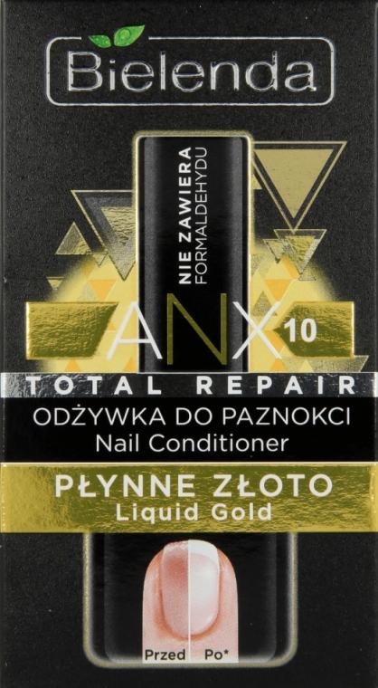 Odżywka do paznokci Płynne złoto - Bielenda Liquid Gold Nail Conditioner