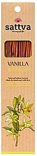 Kup Naturalne indyjskie kadzidła Wanilia - Sattva Vanilla