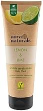 Kup Żel do mycia ciała Cytryna i limonka - Aura Naturals Lemon & Lime Body Wash