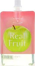 Odżywczo-nawilżający żel kojący do ciała Zielone jabłko - Skin79 Real Fruit Green Apple Soothing Gel — фото N1