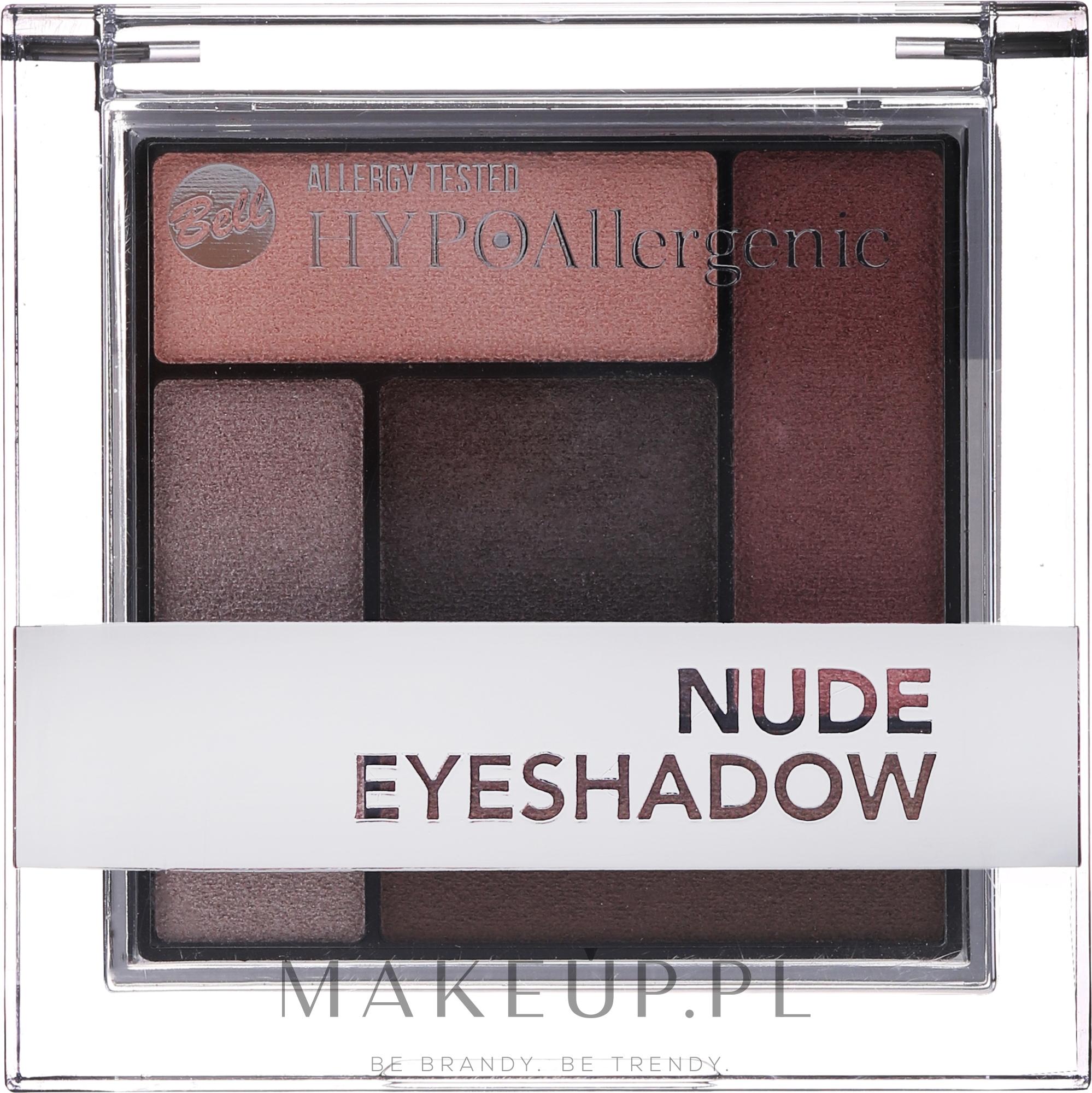 Bell, HypoAllergenic Eyeshadow Set, cienie do powiek 02