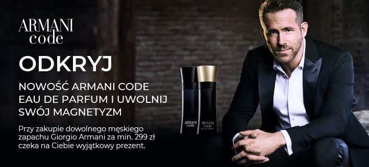Przy zakupie dowolnego męskiego zapachu Giorgio Armani za min. 299 zł, mini perfumy Because It's You otrzymasz w prezencie.