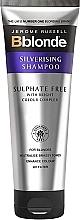Kup Srebrny szampon do włosów blond - Jerome Russell Bblonde Silverising Sulphate Free Brightening Shampoo
